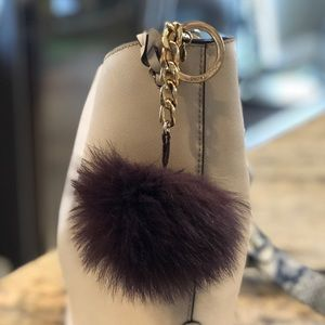 Michael Kors Fur Ball keychain